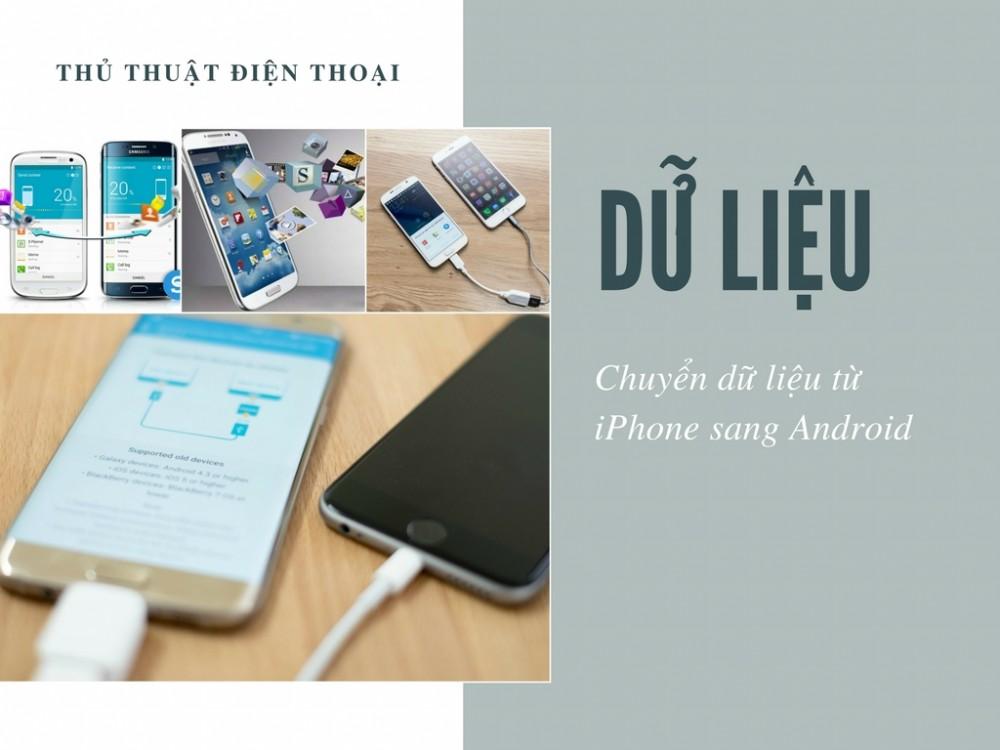 Cách chuyển dữ liệu từ iPhone sang Android qua iCloud