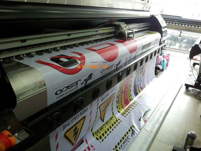 Máy in hiflex khổ 3m2 tại Công ty TNHH In Kỹ Thuật Số