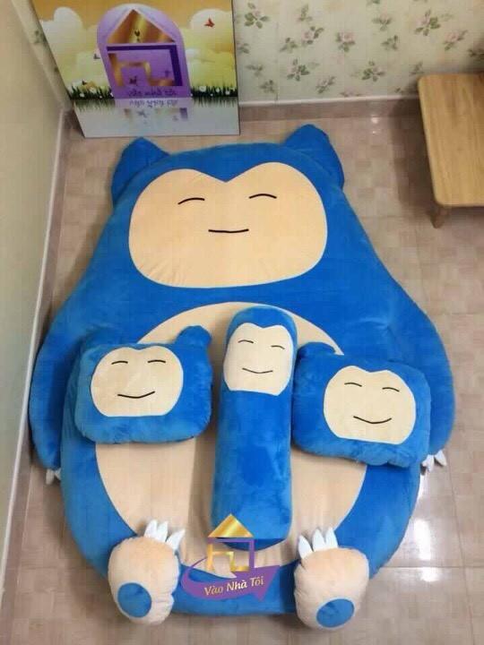 Nệm Hình Thú hình nhân vật hoạt hình Nhật Bản
