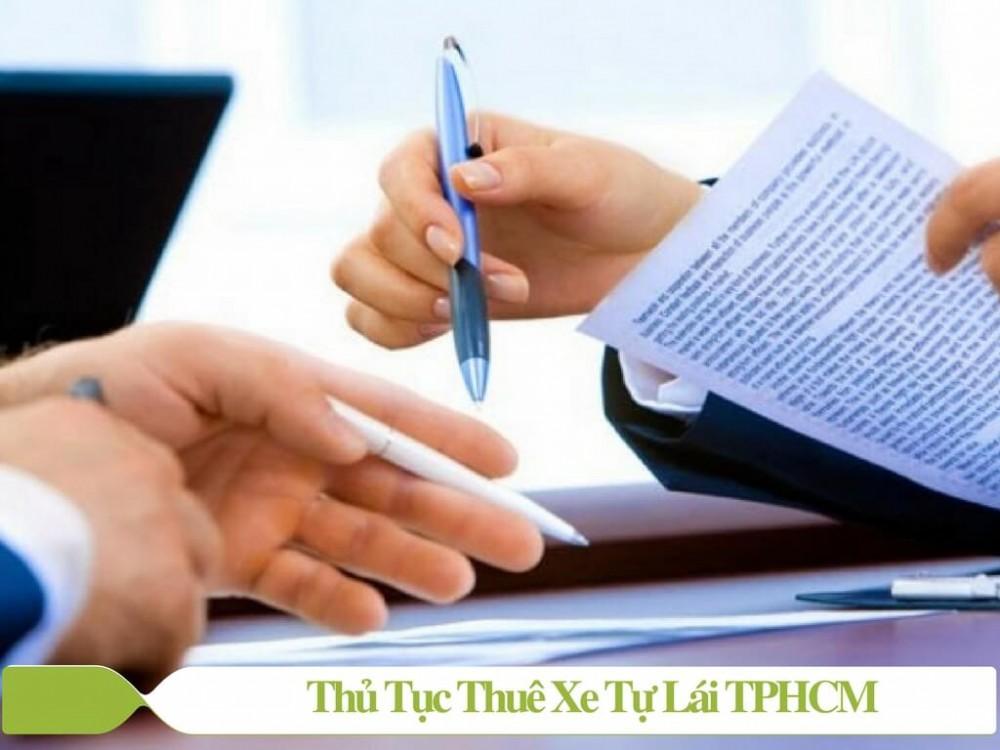 Thủ tục thuê xe tự lái TPHCM