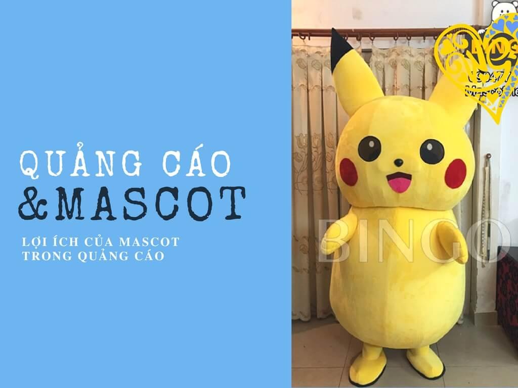 Lợi ích khi sử dụng trang phục mascot để quảng cáo