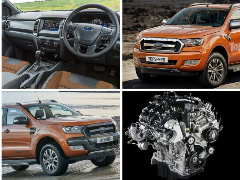 thông tin mới nhất của xe ô tô Ford Ranger 2018