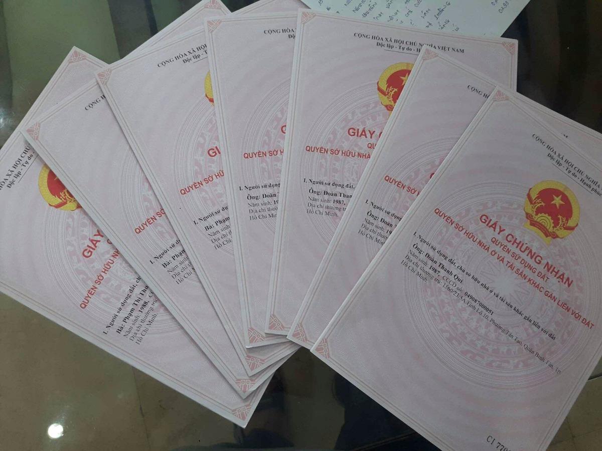 giấy tờ thủ tục mua bán nhà