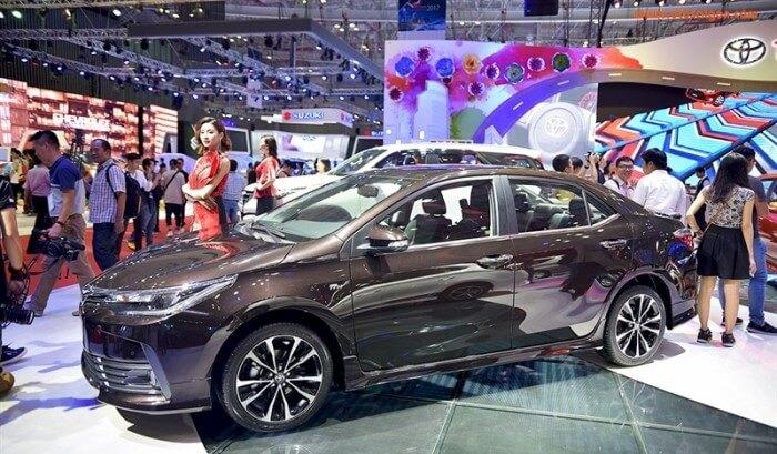 Mua xe Toyota Altis trả góp tại TPHCM