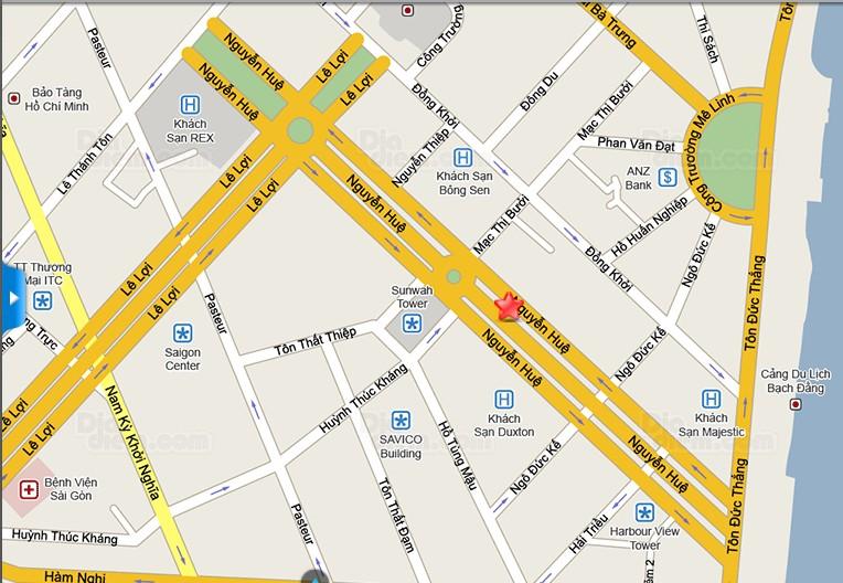 Một số địa điểm gửi xe tại phố đi bộ Nguyễn Huệ