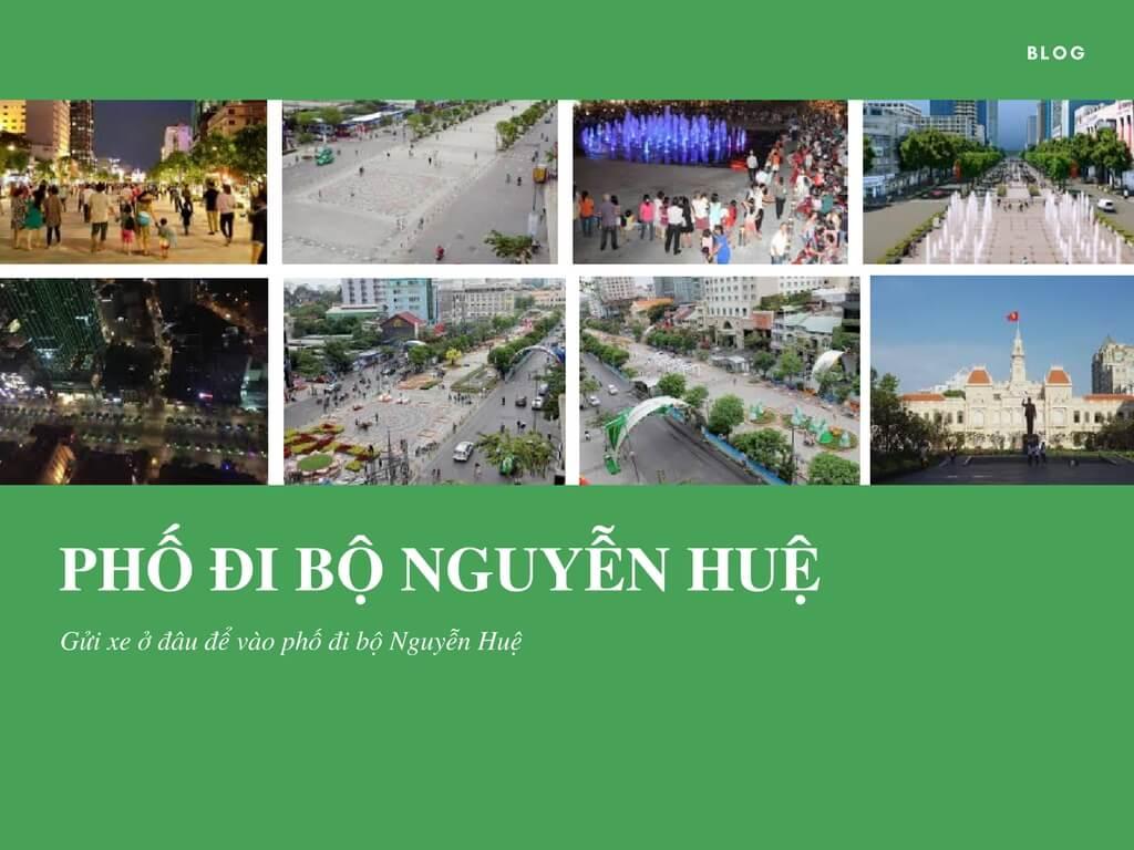 Gửi xe ở đâu để vào phố đi bộ Nguyễn Huệ