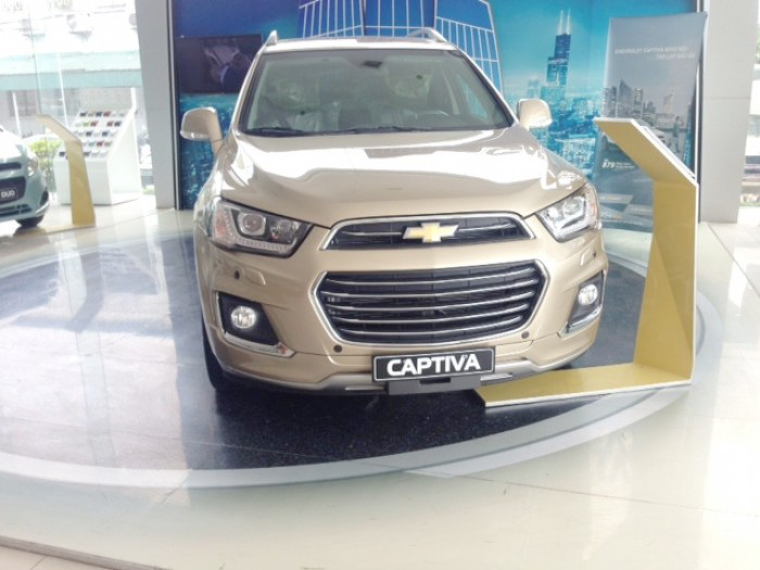 Đánh giá xe Chevrolet Captiva Revv