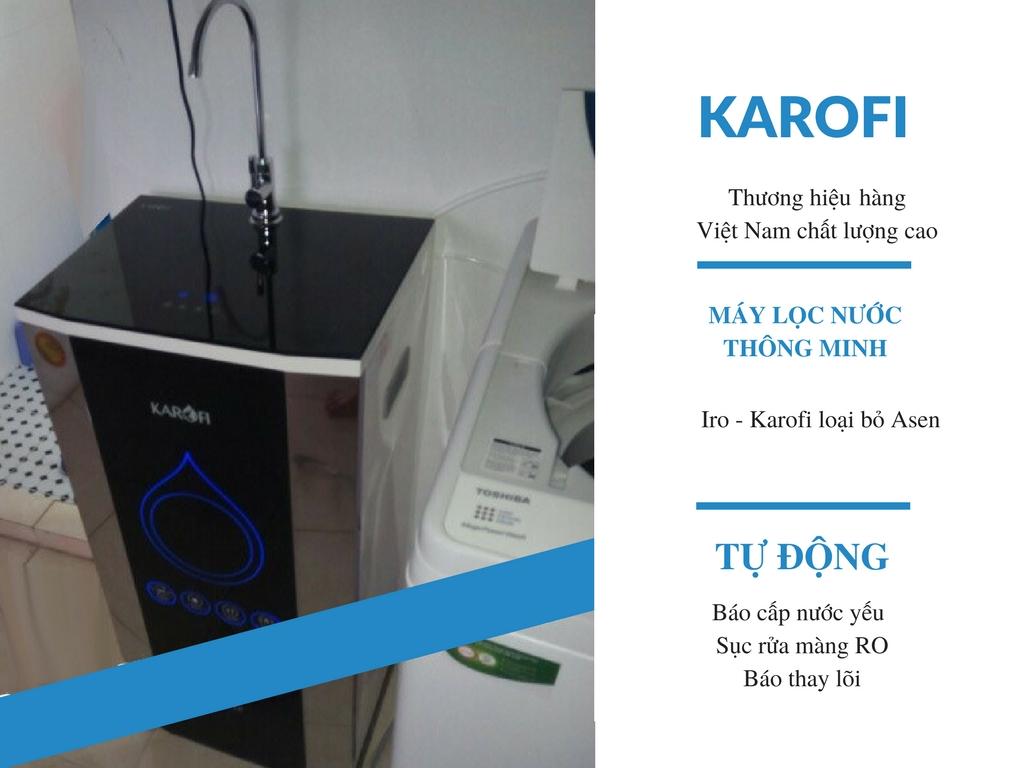 Đánh giá máy lọc nước Karofi - Karofi Iro 2.0 K6IQ-2 6 cấp