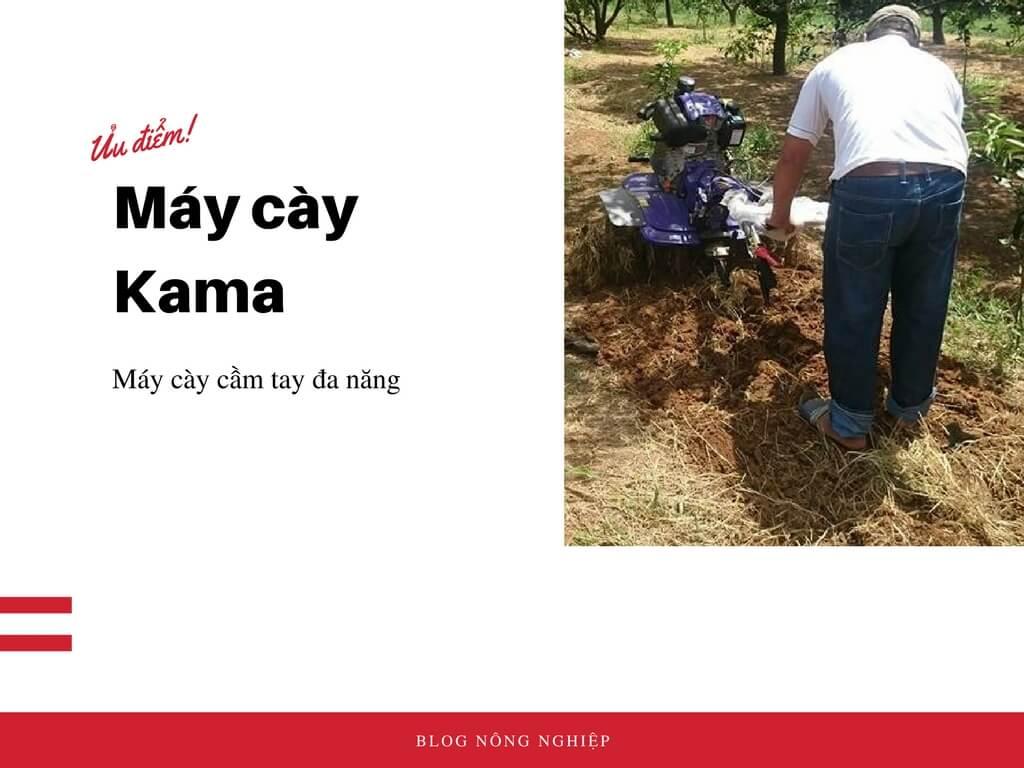 Ưu điểm của máy cày ruộng Kama