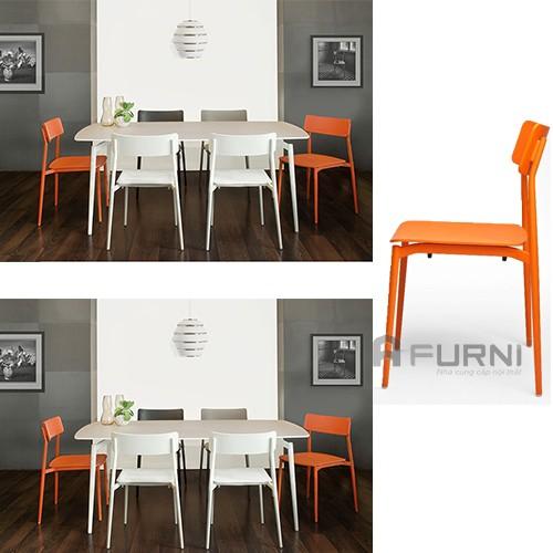 Bộ bàn ghế ăn nhập khẩu Ý ( CULT)