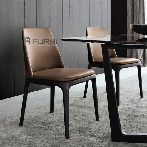 Bộ bàn ghế cao cấp ( bàn đá Concorde + ghế gỗ Grace)
