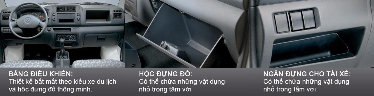 Tại sao quý khách nên quan tâm đến mẫu xe tải Suzuki Pro 750kg nhập khẩu nguyên chiếc này?(4)