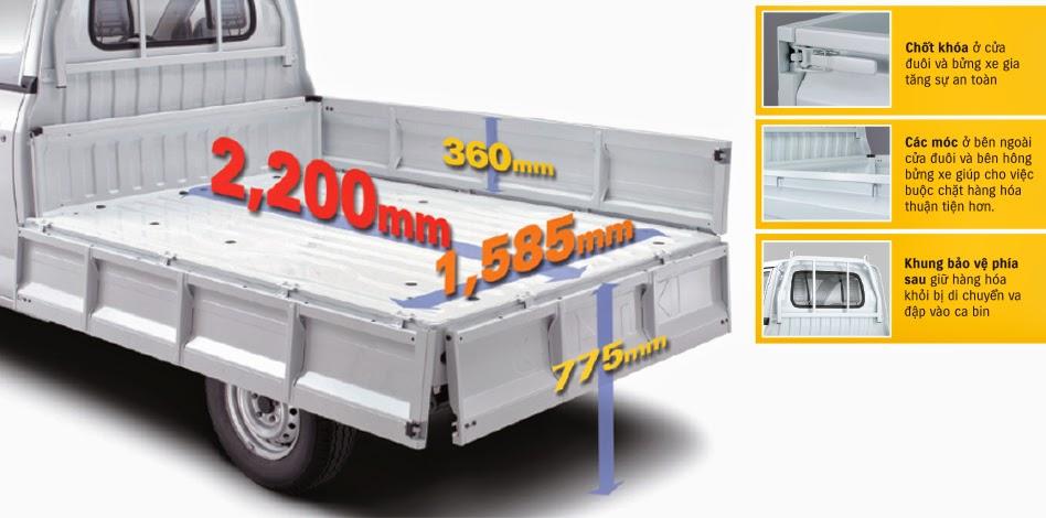 Tại sao quý khách nên quan tâm đến mẫu xe tải Suzuki Pro 750kg nhập khẩu nguyên chiếc này?(5)