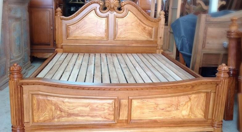 Nhược điểm và ưu điểm của giường ngủ gỗ tự nhiên và giường ngủ gỗ công nghiệp(1)