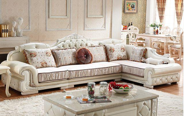 5 Lý do bạn nên chọn mua 1 bộ sofa tân cổ điển góc L tại nội thất Kim Anh Sài Gòn