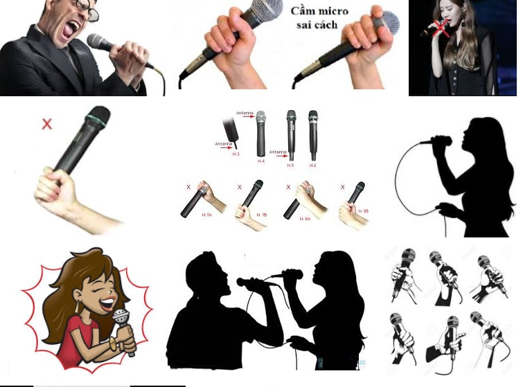 Cách cầm micro hát hay như ca sĩ