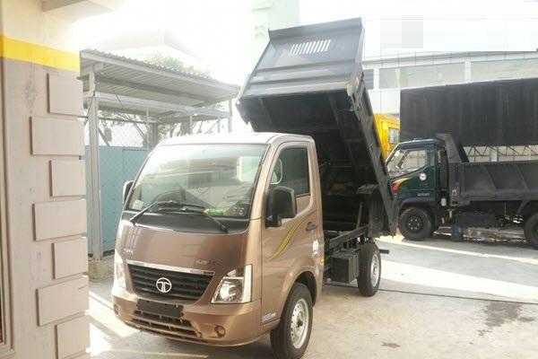Đánh giá  xe ben TaTa 990kg nhập khẩu Ấn Độ(1)