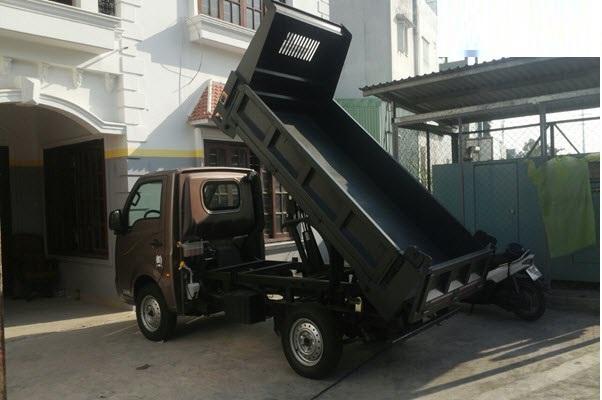 Đánh giá  xe ben TaTa 990kg nhập khẩu Ấn Độ(2)