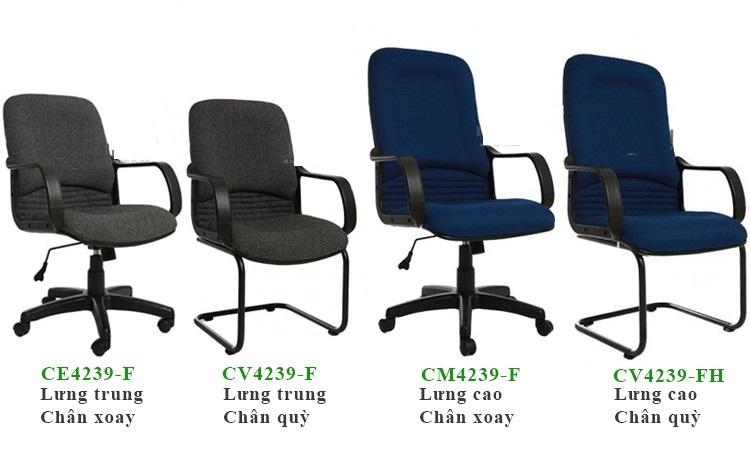 Ghế văn phòng bọc vải toàn thân giá rẻ tphcm CE4239-F