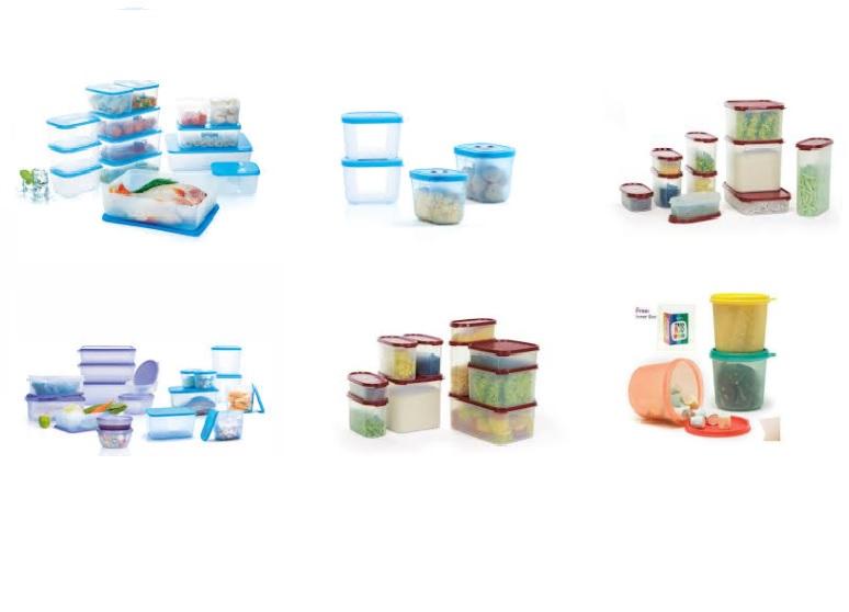 Hộp bảo quản gia vị tupperware từ nhựa nguyên sinh