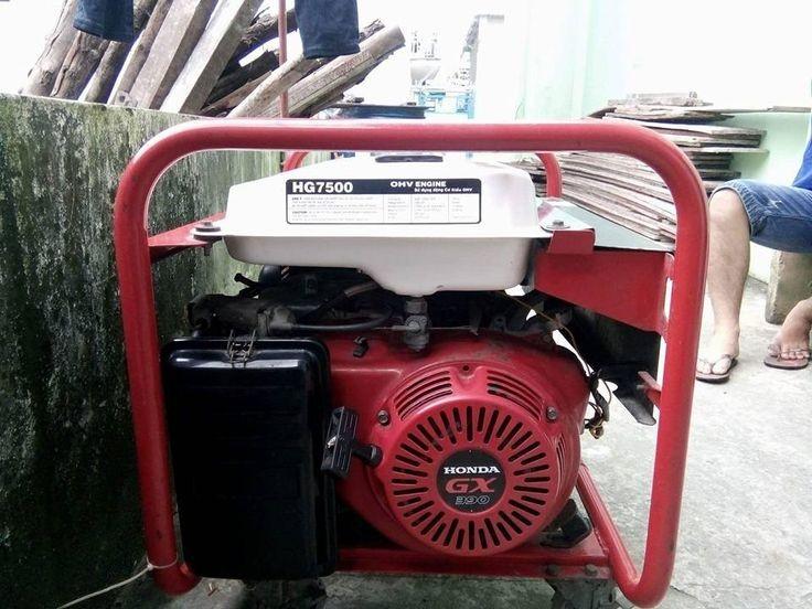 Ưu điểm của máy phát điện xoay chiều Honda HG7500 dân dụng(2)