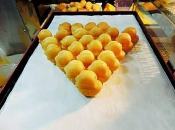 5 bước làm bánh nướng hình gà con độc đáo