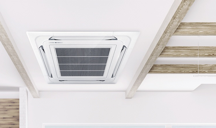 Máy lạnh âm trần Daikin với hệ thống Inverter tiết kiệm điện năng tối đa cho người sử dụng(1)