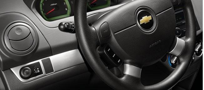 Vô lăng của xe Chevrolet Aveo