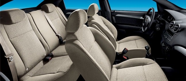 Nội thất của xe Chevrolet Aveo