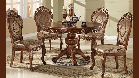 Các mẫu bàn ăn cổ điển Châu Âu thời thượng và đẳng cấp(1)