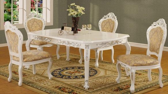 Các mẫu bàn ăn cổ điển Châu Âu thời thượng và đẳng cấp(3)