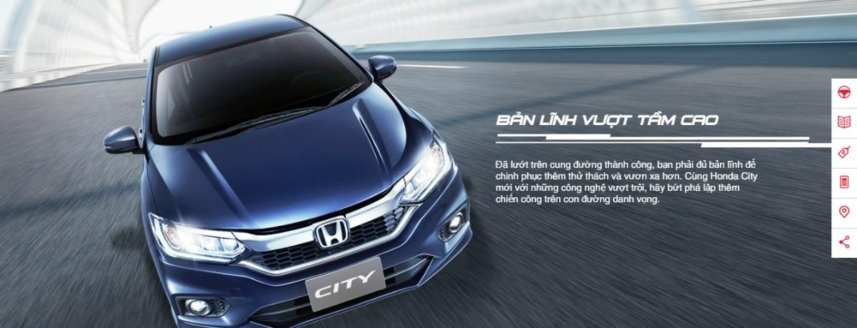 Đánh giá xe Honda city 2018 mới – Tầm cao dẫn bước(1)