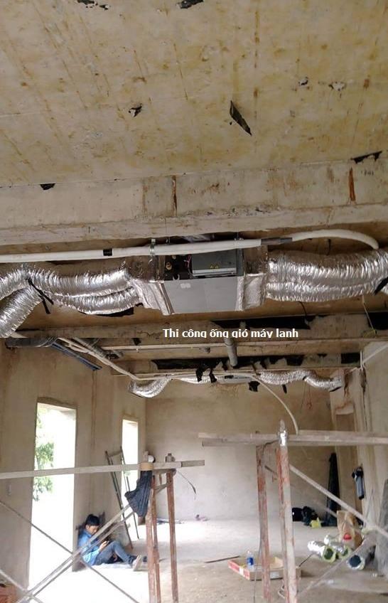 Máy lạnh giấu trần (âm trần) nối ống gió Daikin là gì?(1)