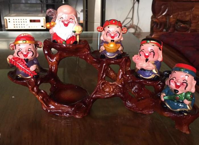 Ý nghĩa bộ tượng 5 ông thần tài