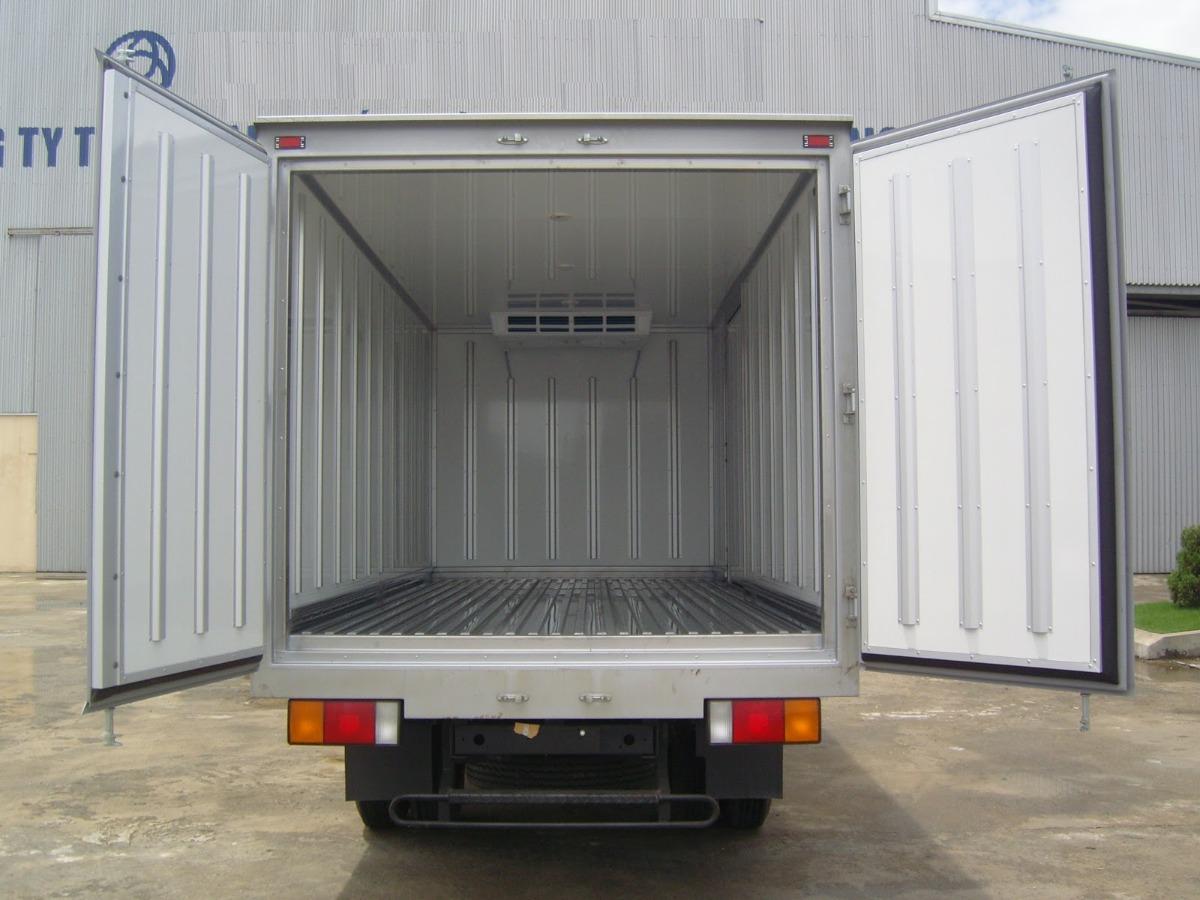 Cần kiểm tra kỹ các công đoạn khi đóng thùng xe tải đông lạnh