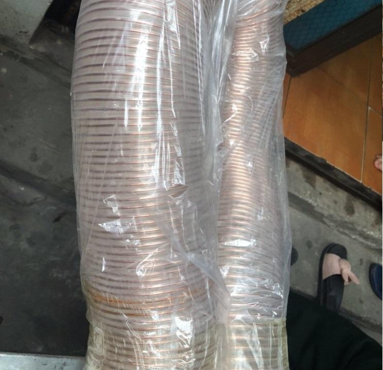 Thành phần cấu tạo của ống nhựa Pu hút vỏ hạt điều, vỏ cà phê , hút dăm bào(2)