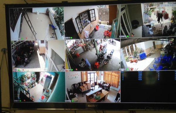 Hình ảnh thực tế lắp đặt trọn bộ camera quan sát tại Bình Dương(1)