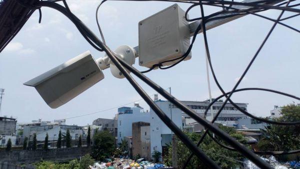 Lắp camera quan sát khu phố