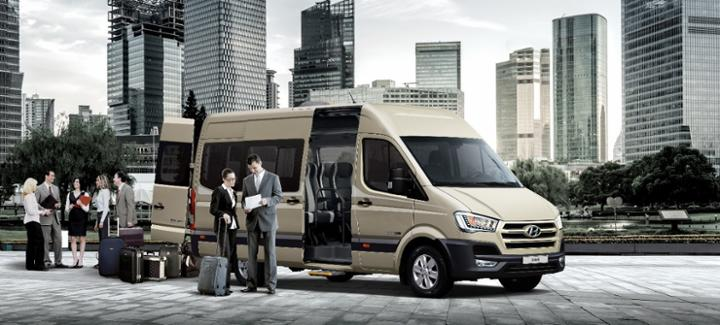 Hyundai Solati giải pháp vận tải hành khách tối ưu