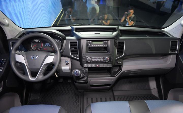Hyundai Solati không gian nội thất rộng rãi nhất phân khúc