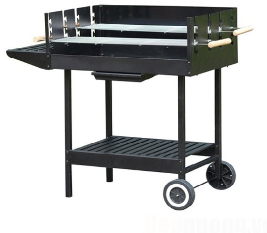 Bếp nướng than ngoài trời CK350 (có bánh xe đẩy)