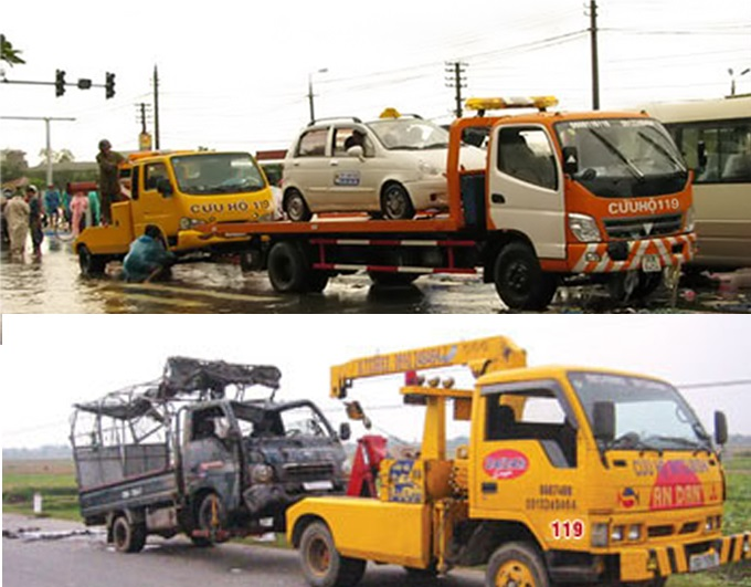 Cứu hộ 119 - garage sửa chữa ô tô Bảo Khoa Đà Nẵng