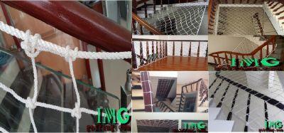 Lưới an toàn chắn cầu thang