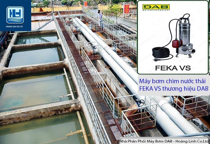 Máy bơm chìm nước thải đặt chìm bằng thép không gỉ- Bơm chìm FEKA VS(1)