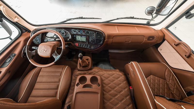 Nội thất Hyundai County Limousine(7)