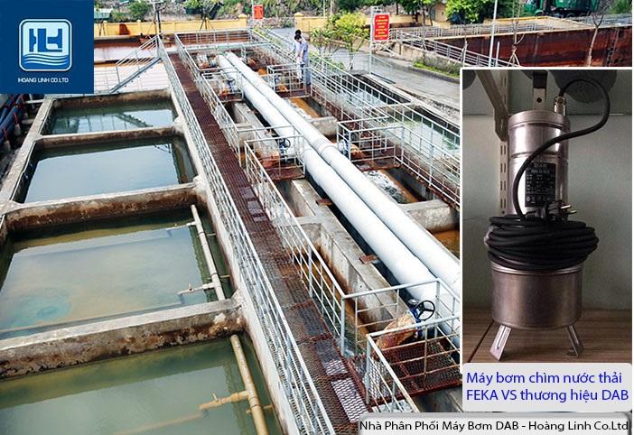 Máy bơm chìm nước thải đặt chìm bằng thép không gỉ- Bơm chìm FEKA VS