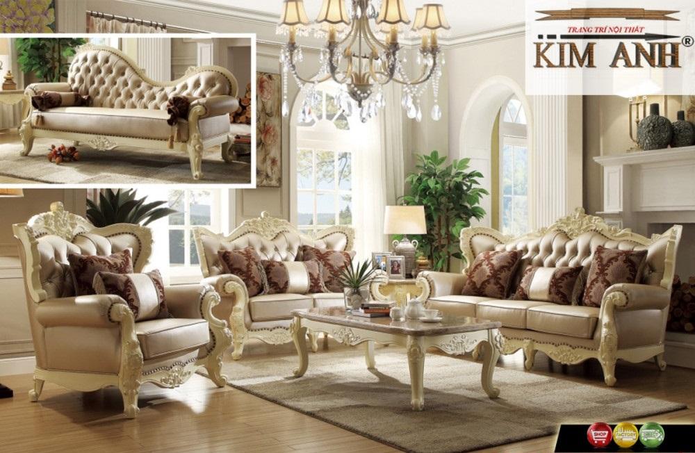 Nếu phân theo kiểu dáng, phong cách thiết kế, sofa được phân theo các loại sau:
