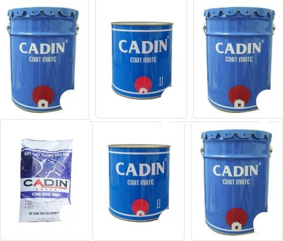 Thông số kỹ thuật Sơn kẽm đa năng CADIN chính hãng