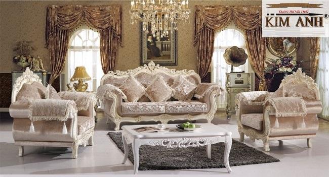 Giới thiệu tổng quát về các loại sofa cổ điển và tân cổ điển