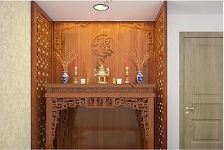 Các mẫu vách ngăn bàn thờ hiện đại và ưa chuộng nhất